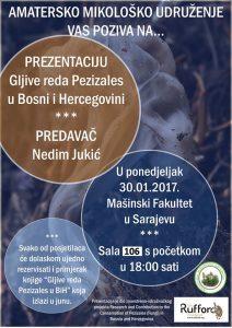 Predavanje - Gljive reda Pezizales (poster)